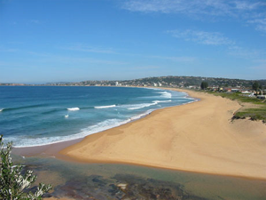 The beach at Narrabeen, just one of Sydney's many beautiful beaches