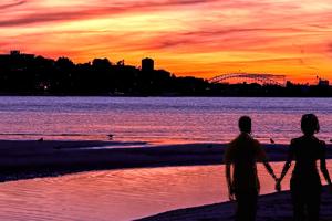sydney-sunset-silhouette