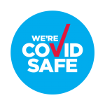 "official NSW Health ""WE'RE COVID SAFE"""
